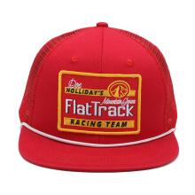 diseño personalizado de moda al por mayor su propio logotipo plano en blanco de ala larga neón snapback camionero sombreros