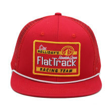 mode personnalisée en gros votre propre logo plat blanc à long bord néon snapback corde camionneur chapeaux