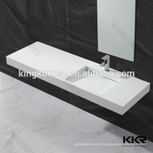 Hot wholesale artificial stone bathroom sinks for hospital ,shopping center