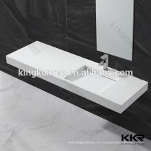 Горячая оптовая продажа искусственная каменная раковина ванной комнаты для больницы ,торгового центра