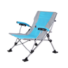 Wholesale outdoor folding sun lounge chair metal foldable camping chair