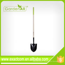 Multi Function Cheap Soil Digging Round Point Shovel Spade