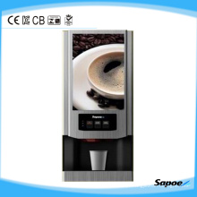 3 sabores máquina de café instantânea sobre o Go