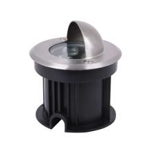 Impermeável IP68 3W em aço inoxidável exterior subaquático