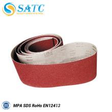 customise Size and E-wt Backing gxk51 sand belt