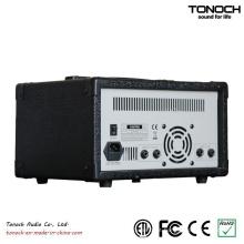 4 Canais Power Box DJ Mixer