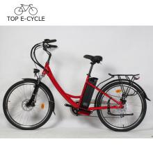 China Bicicleta eléctrica de la bicicleta E del motor eléctrico del eje de rueda de la bici verde 300W