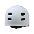 Матовый белый шлем для коньков для взрослых и молодежи