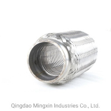Professional Exhaust Flexible Pipe with Interlock Inside, Auto Parts, Exhaust Connectors