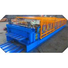 Двухслойная профилегибочная машина для производства листовой стали из цветной листовой стали