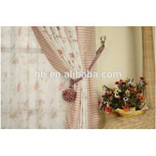 Занавески для занавесей из веревки из плетеной ткани