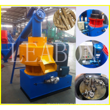 Leabon CE Approved 550 Vertical Ring Die Type Pellet de madera Precio de línea (1.5-2t)