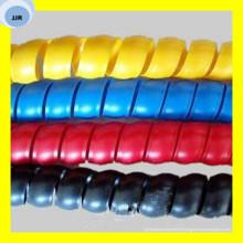 Protecteur de tuyau hydraulique coloré en plastique de haute qualité de pp