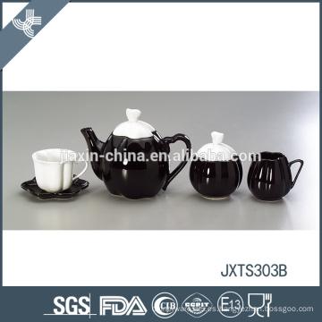 Cerámica respetuosa del medio ambiente duradera de estilo japonés fino taza de té conjunto