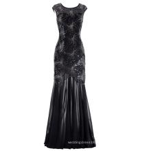 Kate Kasin Sequined Cap manga V-Back Ball Gown Evening Prom Dress 7 Tamaño de los EE.UU. 4 ~ 16 KK001055-1