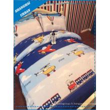 Le couvert de literie en coton pour enfants Plane (ensemble de couverture)