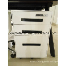 Assembled Thin Frame Mobile Filing Cabinet with Combination Lock