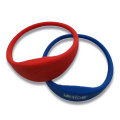 Bracelet en silicone RFID populaire pour le contrôle d'accès
