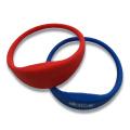 Pulsera de silicona RFID popular para control de acceso