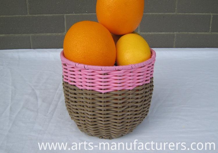 weaving flower basket
