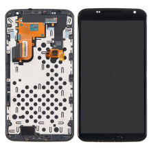 LCD avec assemblage de cadre de numérisation pour Google Nexus 6 Xt1100 Xt1103