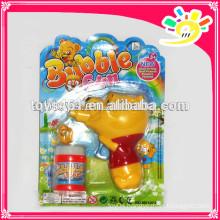 Cute cartoon design bubble gun toys ,outdoor play bubble gun toys