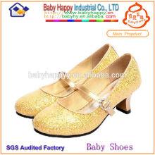 Блестящие красивые каблуки для детей
