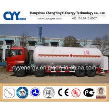 Cryogenic Liquid Semi Trailer für Lox, Lin, Lar, Lco2, LNG.