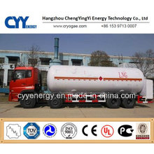 Cryogenic Liquid Semi Trailer for Lox, Lin, Lar, Lco2, LNG.