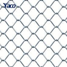 Gros diamant galvanisé chaîne lien clôture pour le jardin