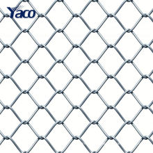 wholesale diamond galvanized chain link fence for garden
