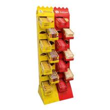 2016 Customized Cardboard Corrugated Floor Display Stand
