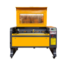 Easy use CNC Laser engraver cutter and Co2 Laser cutting machines manufacturer 9060 60/80/100W for Non-metal wood plywood