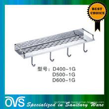 made in china étagère de salle de bain réglable en métal D400-1G