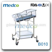 Medco B010 Edelstahl tragbare Krankenhaus Neugeborenen Babybett Preise