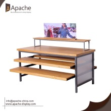 Popular Design for Clothes Rack Wooden Display Rack shop furniture garment display export to Liberia Exporter