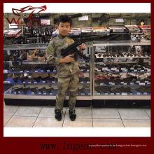 Qualitativ hochwertige taktische uns Army Military Camouflage Uniform für Kinder in Camo