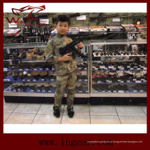 Alta qualidade tática nos militares do exército camuflar uniforme para as crianças no Camo