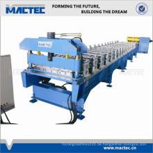 2014 beliebtesten Doppelschicht Fliese Roll Formmaschine
