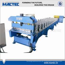 Alta qualidade rápido duplo trapezoidal telha rolo dá forma à máquina