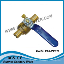 Pex Ball Valve with Drain Valve (V18-PX011)