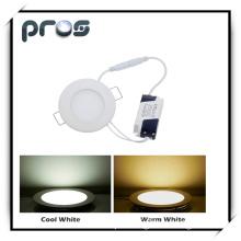 Round 3W LED Panel Light (PL-P-R3W-W)