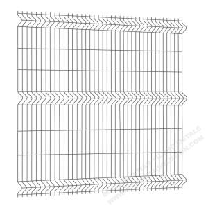 2500mm 3D Wire Mesh Fence Panel