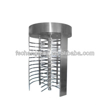 rotate turnstile gate with automatically reset function