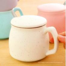 Diseño de moda Taza de café de porcelana Taza de cerámica Taza de leche