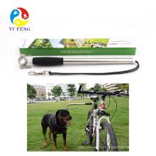 Велосипед поводок собаки поводок руки бесплатный тренажер велосипед