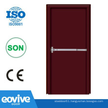 certificated UL rated wood doors fire-proof