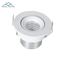 E27 surface recessed aluminum vertical reflector led downlight fixture