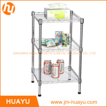 3 Tier Garage Organizer Metal Wire Display Shelf
