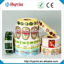 Customized beer bottle glass bottle sticker